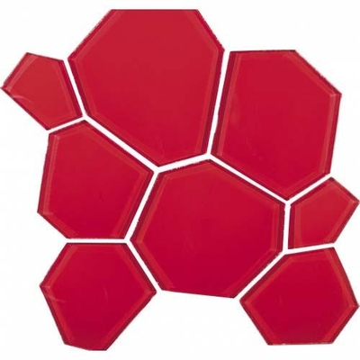 ANTIC COLLANIAL - Antic Collanial Mozaik Cam Hexcube Red
