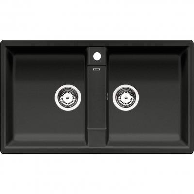 BLANCO - Blanco Eviye Zia 9 Silgranit Siyah 86 x 50 cm