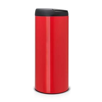 BRABANTIA - Brabantia Çöp Kutusu 30 litre Flipin Kırmızı 106903