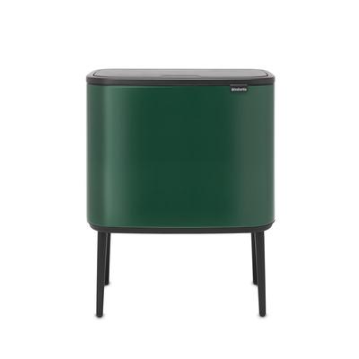 BRABANTIA - Brabantia Çöp Kovası 36 litre Bo Touch Dokunmatik Çam Yeşili 304163