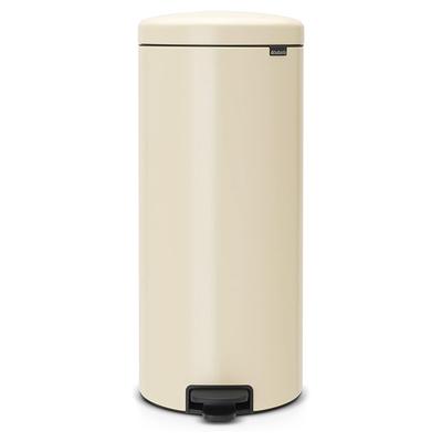 BRABANTIA - Brabantia Çöp Kutusu 30 litre Newicon Pedallı Almond 114281