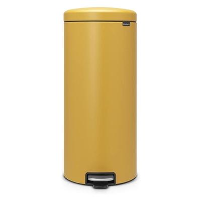 BRABANTIA - Brabantia Çöp Kutusu 30 litre Newicon Pedallı Hardal Sarı 116148