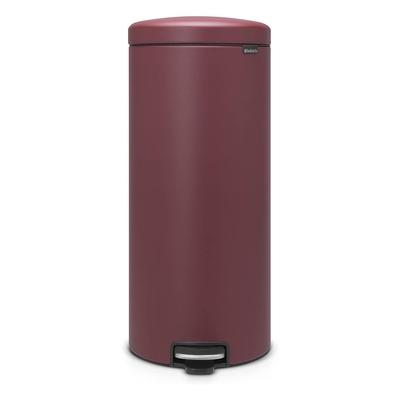 BRABANTIA - Brabantia Çöp Kutusu 30 litre Newicon Pedallı Kırmızı 115981