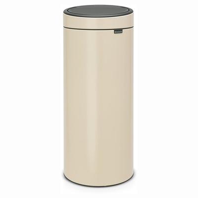 BRABANTIA - Brabantia Çöp Kutusu 30 litre Touch Bın New Dokunmatik Almond 115042