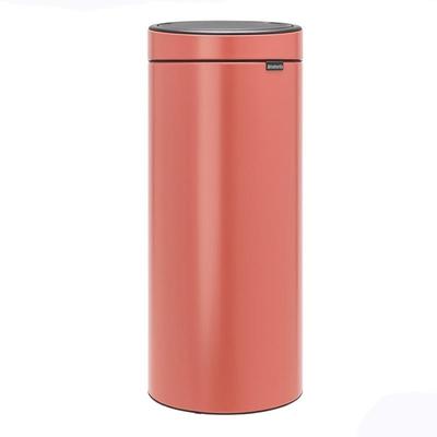 BRABANTIA - Brabantia Çöp Kutusu 30 litre Touch Bın New Terracotta Pembe 304385