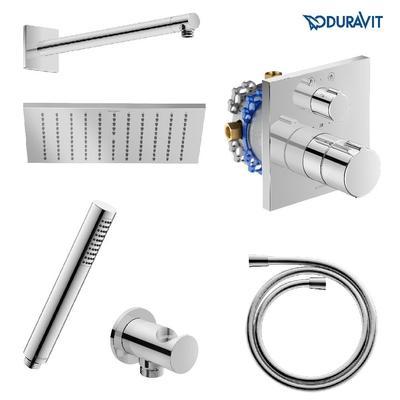DURAVİT - Duravit C1 Ankastre Termostatik Banyo Bataryası Seti