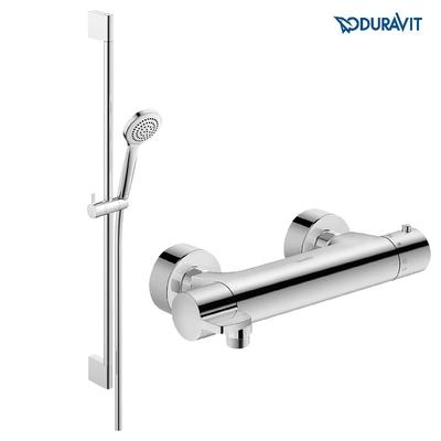DURAVİT - Duravit B1 Duş Bataryası Seti Termostatik