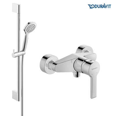 Duravit B2 Duş Bataryası Seti - Thumbnail 20DRV-SET3-1890