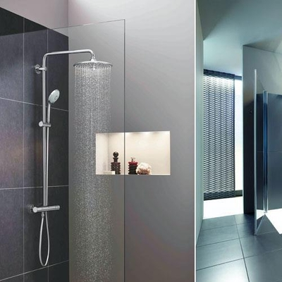 DURAVİT - Duravit C1 Duş Sistemi Termostatik C14280008010 (1)