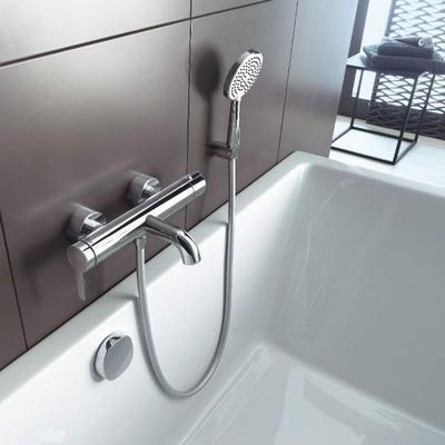 DURAVİT - Duravit C1 Duvardan Banyo Bataryası C15230000010 (1)