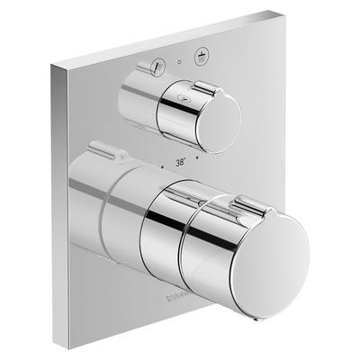 DURAVİT - Duravit Cl Ankastre Kare Duş Bataryası Termostatik C14200013010