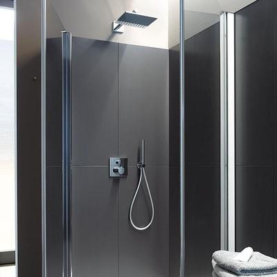 DURAVİT - Duravit Cl Ankastre Kare Duş Bataryası Termostatik C14200013010 (1)