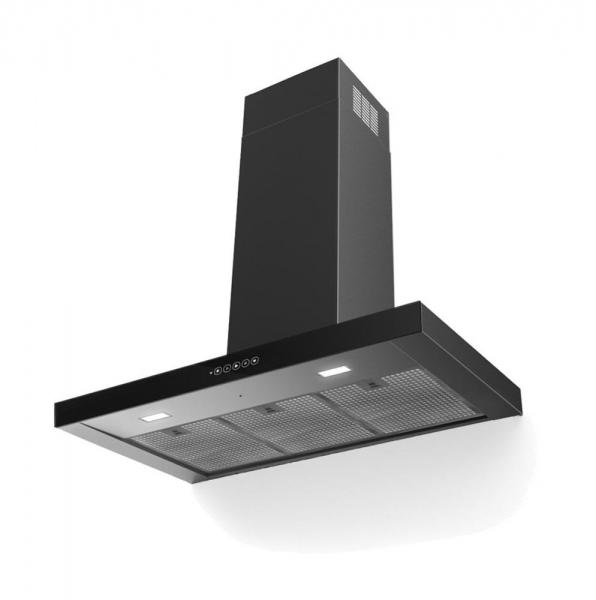 Faber Davlumbaz T-Dark A90 Siyah -Paslanmaz Çelik 325.0584.868 - 20FRN325.0584.868