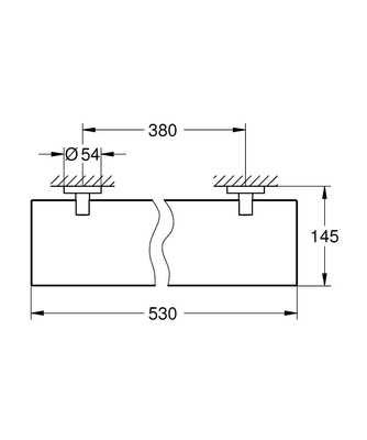 GROHE - Grohe Essentials Cam Raf - 40799001 (1)