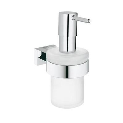 GROHE - Grohe Sıvı Sabunluk İkili Set Essentials Cube Camı ve Tutacağı