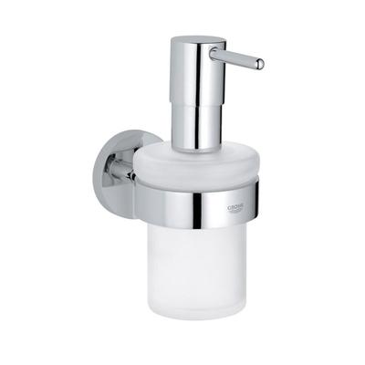 GROHE - Grohe Sıvı Sabunluk Tutacağı ve Camı İkili Set Essentials