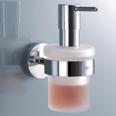 GROHE - Grohe Sıvı Sabunluk Tutacağı ve Camı İkili Set Essentials (1)